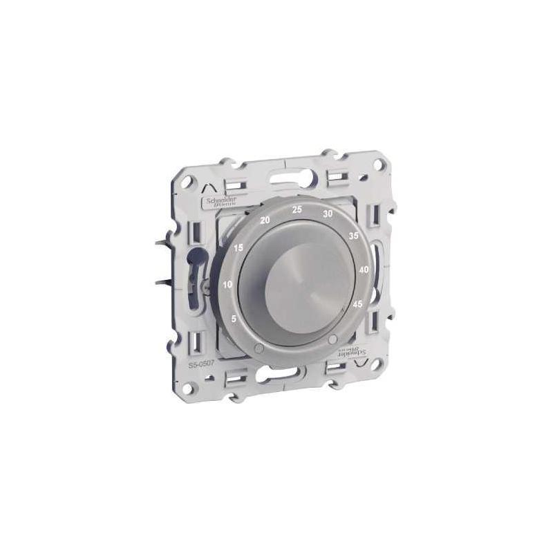 Schneider s530507 thermostat lectronique 10 a odace pour plancher chauffan - Derouleur plancher chauffant ...