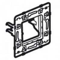 Support de fixation à visser pour appareillage Céliane et Mosaic - 1 module - A griffes longues - Batibox