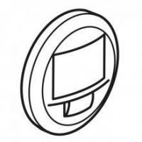 Enjoliveur Céliane pour détecteur de mouvement - Blanc