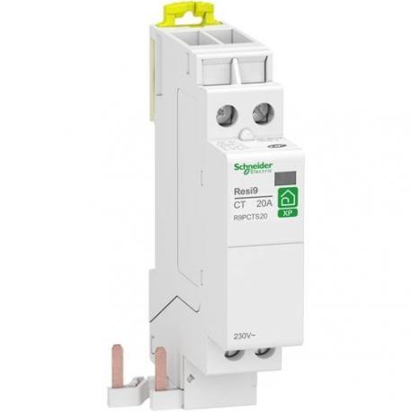 Contacteur standard Resi9 XP - Pré-équipé peignable - 2 NO - 20 A