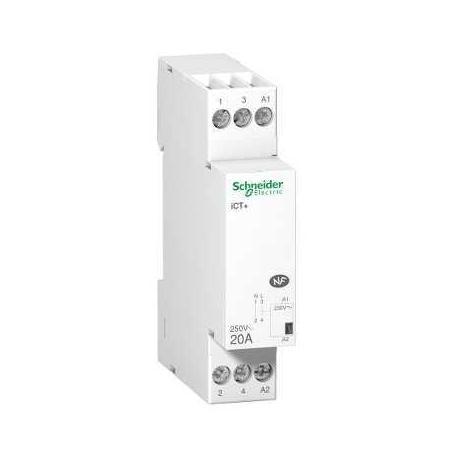 Contacteur silencieux iCT+ - 20 A - 1P - 230 V CA 50 Hz