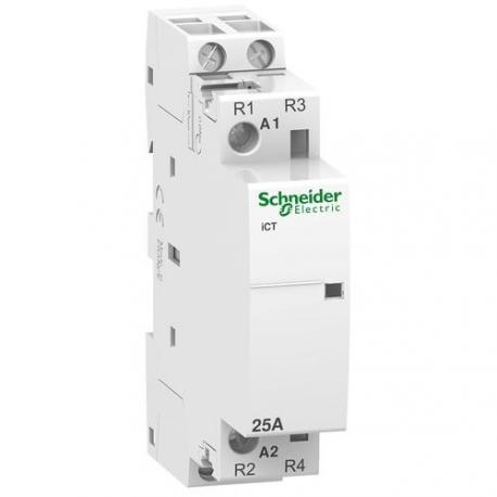 Contacteur iCT bi - 25 A - 2 NF - 230-240 V CA 50 Hz - Auxiliarisable