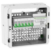 Coffret de communication prêt à l'emploi Grade 2 TV Essential - 6 RJ45 - LexCom Home