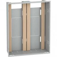 Bac d'encastrement Resi9 - 2 x 13 modules - 645 (H) x 505 (L) x 140 (P) mm
