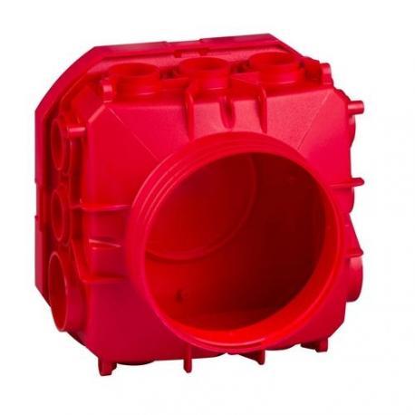 Lot de 25 - Préfal horizontal - Boîte de centre autoextinguible 140 x 140 mm hauteur 95 mm à désoperculer