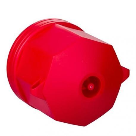 Lot de 50 - Préfal horizontal - Boîte de centre autoextinguible octogonale - Diamètre 92 mm - Hauteur 87 mm