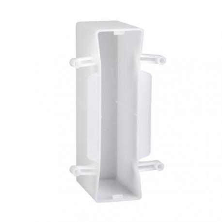 Lot de 50 - Préfal horizontal - Boîte de descente de cloison 80 x 172 x 45 mm à poinçonner