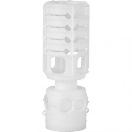 Préfal vertical - Boîte avec queue de calage - Diamètre 64 mm - Profondeur 68 mm - Entrée vis-à-vis