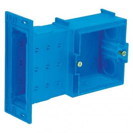 Lot de 20 - Boîte à sceller Modulo carrée - De chambranle 1 poste - Profondeur 40 mm