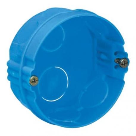 Boîte à sceller Modulo ronde - 1 poste - Profondeur 30 mm