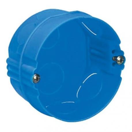 Boîte à sceller Modulo ronde - 1 poste - Profondeur 40 mm