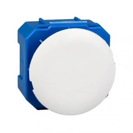 Boîte d'applique avec couvercle plein non affleurant - Diamètre 40 mm - Profondeur 40 mm