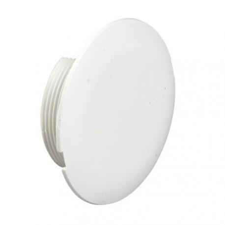 Couvercle rond plein pour boîte d'encastrement diamètre 40mm