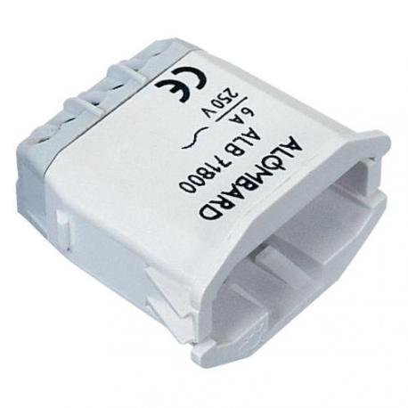 Connecteur + obturateur à clipser sur couvercle DCL