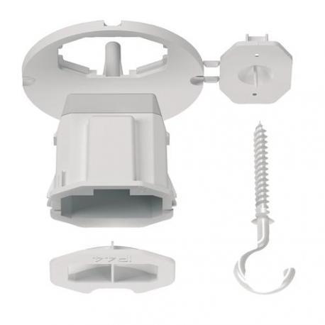 Couvercle affleurant + Connecteur + Piton pour point de centre