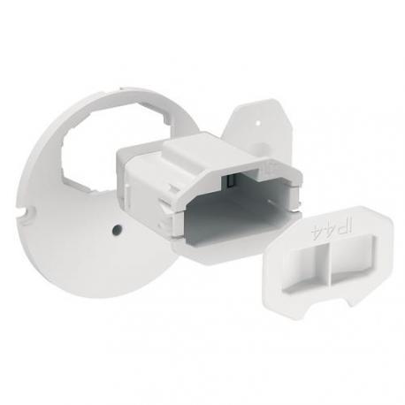 Couvercle affleurant + Connecteur pour applique