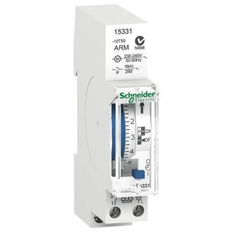 Interrupteur horaire électromécanique IHH - 1 canal 7 jours - Intervalle 2h