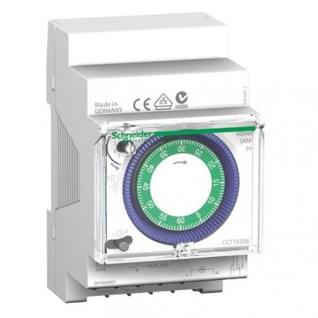 Interrupteur horaire électromécanique IH - 1 canal 60 minutes