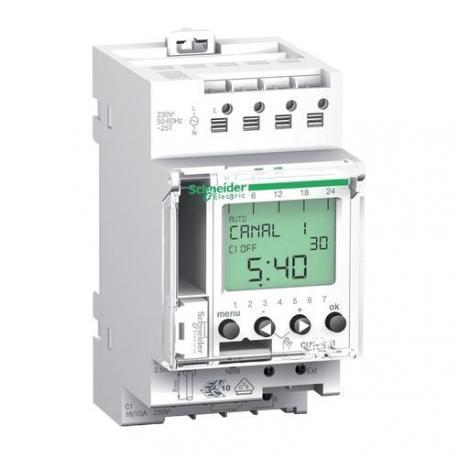 Interrupteur horaire digital programmable IHP+ - 1 canal 24h/7j