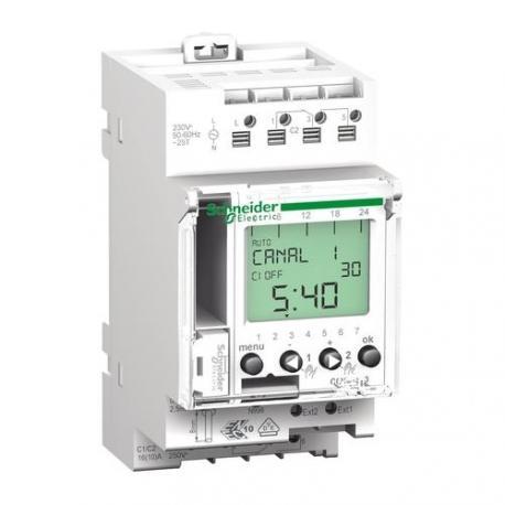 Interrupteur horaire digital programmable IHP+ - 2 canaux 24h / 7j