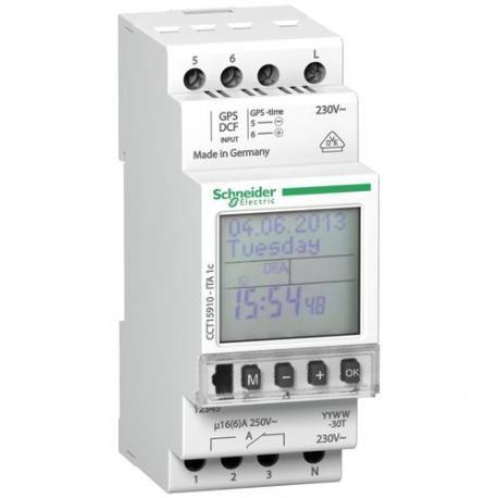 Interrupteur horaire programmable ITA 1 canal - 24h / 7j / 1 an