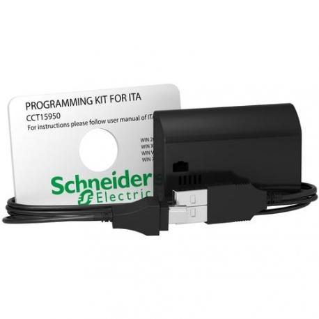 Kit de programmation avec logiciel pour interrupteur horaire annuel ITA