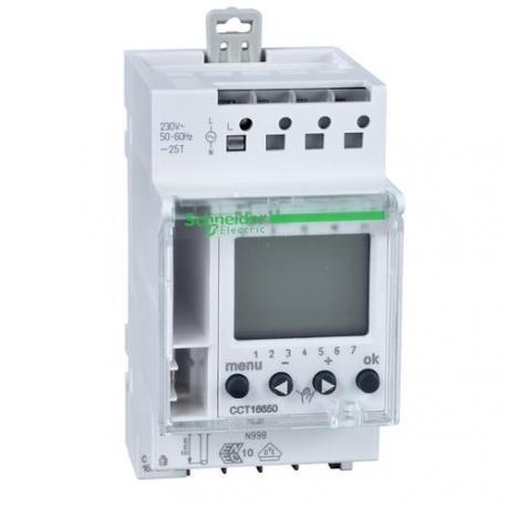 Interrupteur horaire programmable Resi9 - 1 canal 7 jours