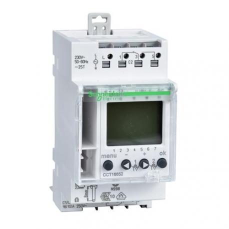 Interrupteur horaire programmable digital Resi9 - 2 canaux 7 jours