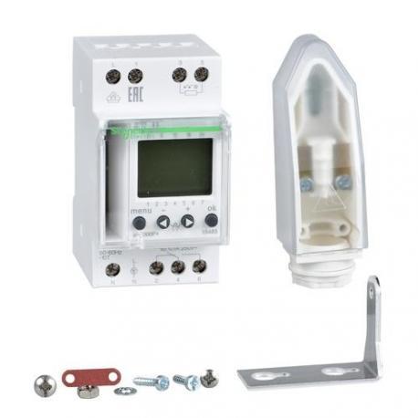Interrupteur crépusculaire avec programmation horaire IC2000P+ - 1 canal