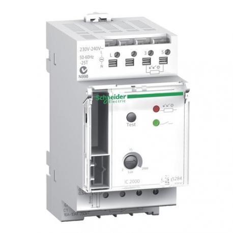 Interrupteur crépusculaire IC2000 - 1 canal - Avec cellule de tableau