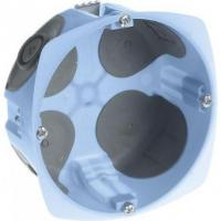 Boîte d'encastrement étanche à l'air XL Air'Métic - 1 poste pour 32A - Prof. 50 mm - Diam. 85 mm