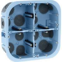 Boîte d'encastrement étanche à l'air XL AIR' Métic - 2 x 2 postes 71 mm - Prof. 50 mm - Diam. 67 mm