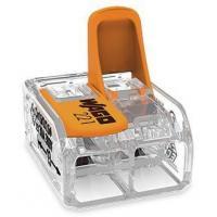 Mini-borne de raccordement à levier - 2 conducteurs - 6 mm²