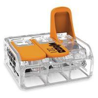 Mini-borne de raccordement à levier - 3 conducteurs - 6 mm²