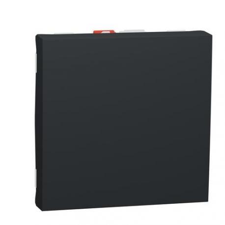 Va-et-vient Unica - 2 modules - Bornes auto - Anthracite