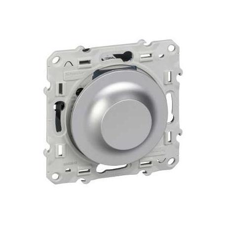 OCCASION - Variateur universel Odace spécial LED à variation - Aluminium