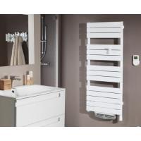 Radiateur sèche-serviettes Adelis Intégral Ventilo - 1500 W - Blanc