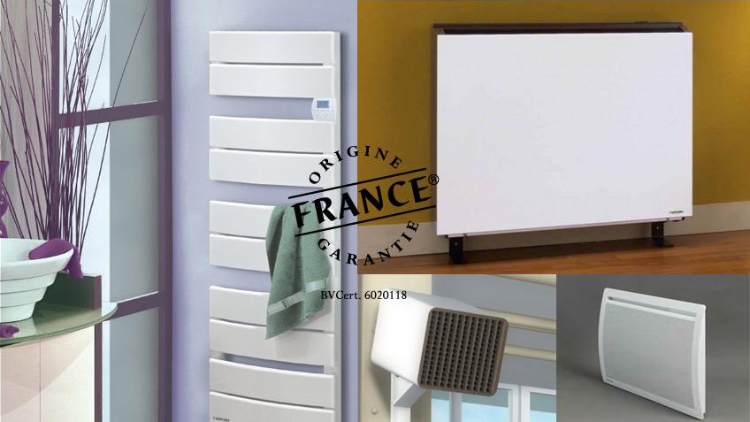 Applimo, Origine France Garantie