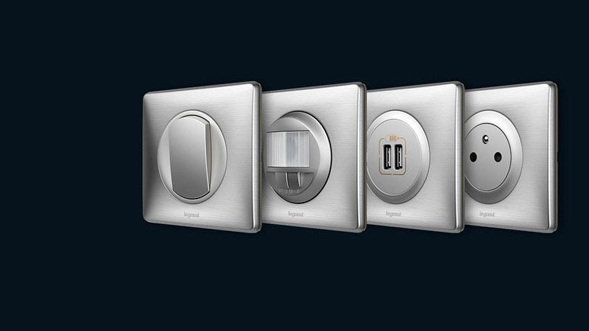Interrupteurs et prises électriques Céliane par Legrand